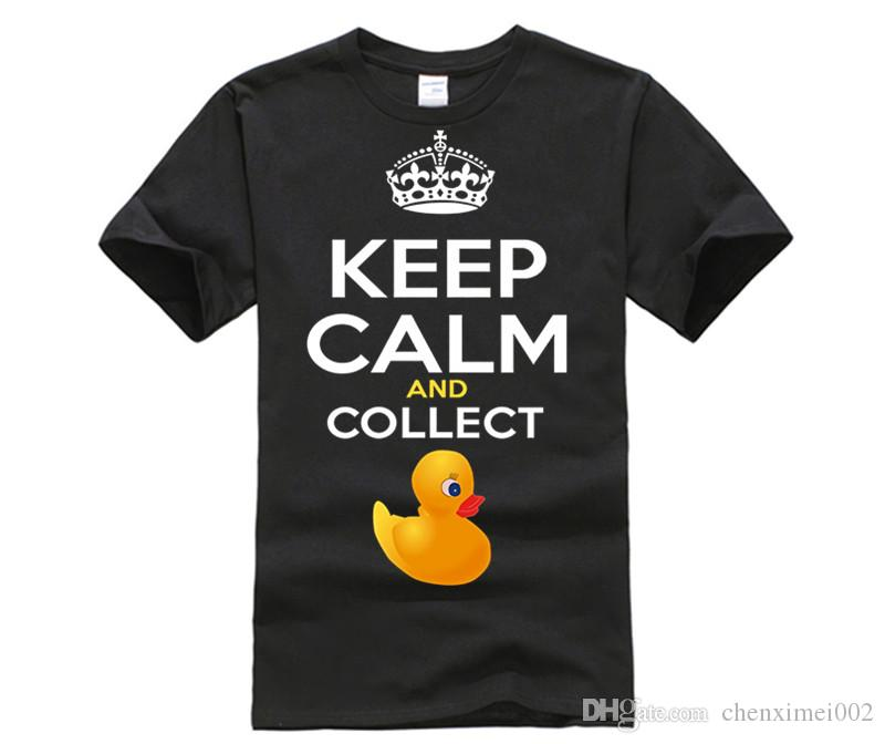 Keep Calm And Collect Rubber Ducks Funny Rubber Duck T Shirt Create