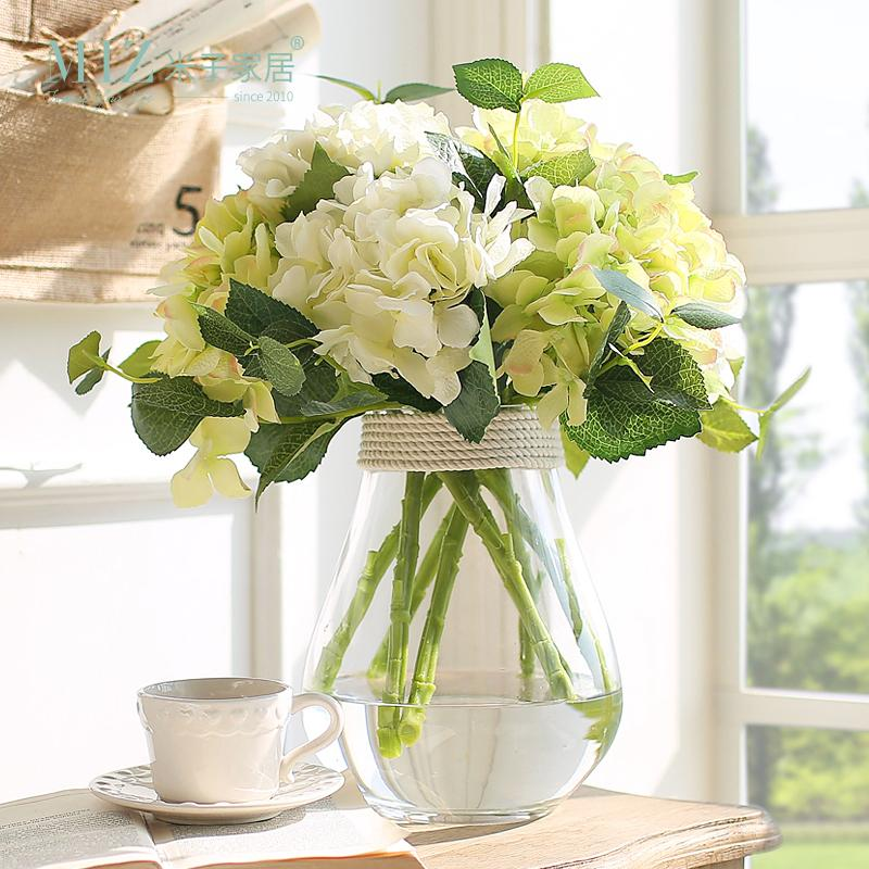 2019 Miz Home Big Size Hydrangea Flower Top Quality Real Touch Decor Festival Party No Vase From Chinasmoke 2359