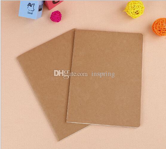 جلد البقر ورقة دفتر فارغة المفكرة كتاب خمر لينة الدفتر المذكرات اليومية كرافت غطاء الدفاتر مجلة