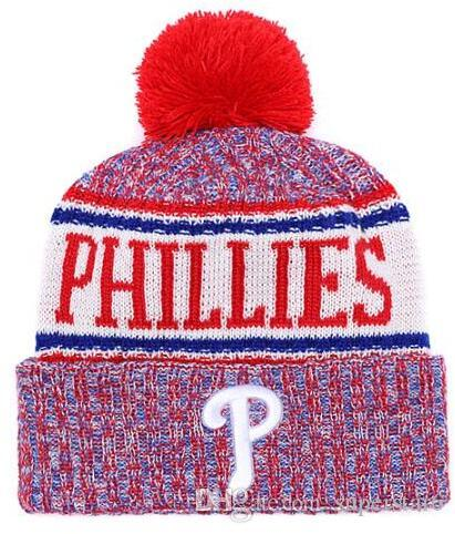 353728cb01e Top Selling Phillies Beanie Beanies Sideline Cold Weather Reverse Sport  Cuffed Knit Hat With Pom Winer Skull Caps Beanie Hoodies From Superstar6
