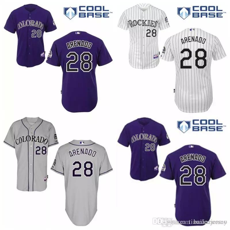 b469e54101b ... mlb colorado rockies 28 road cool base 9b071 6b92d  best 2018 cheap co rockies  jersey 28 nolan arenado jersey authentic baseball jersey embroidery logos  ...