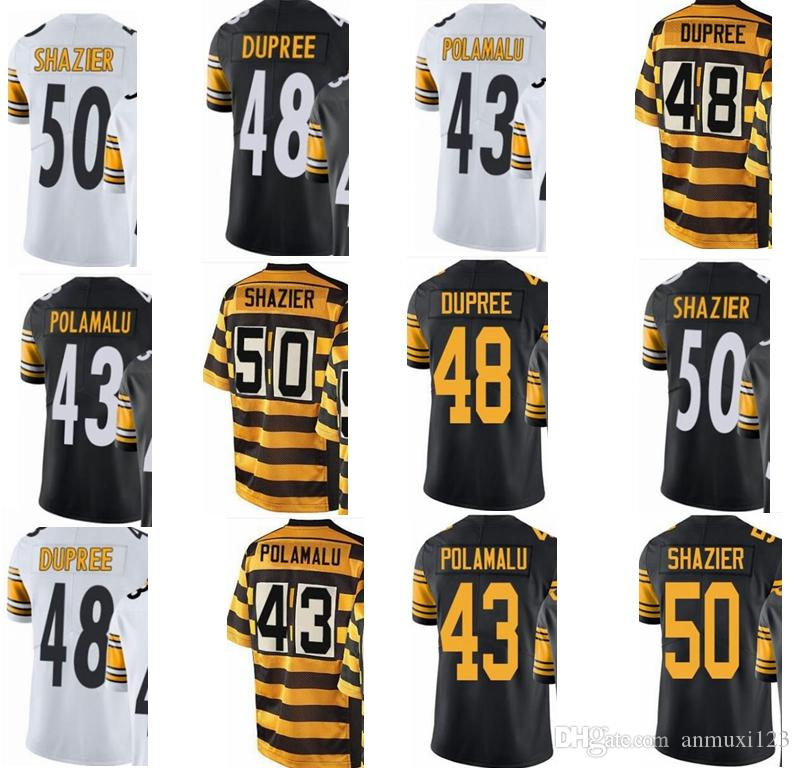 2018 Pittsburgh custom steelers Men Youth Women 43 Troy Polamalu 48 Bud  Dupree 50 Ryan Shazier Vapor Untouchable Limited Rush Elite Jerseys From  Anmuxi123 612fa305a