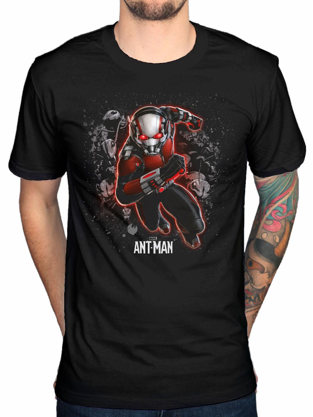 e5834f8ed Official Marvel Ant Man Antman T Shirt Movie Classic Logo Comic Superhero  Atom Hip Hop Men Tshirt T Shirt Design Template Funny T Shirt From  Cls6688523, ...