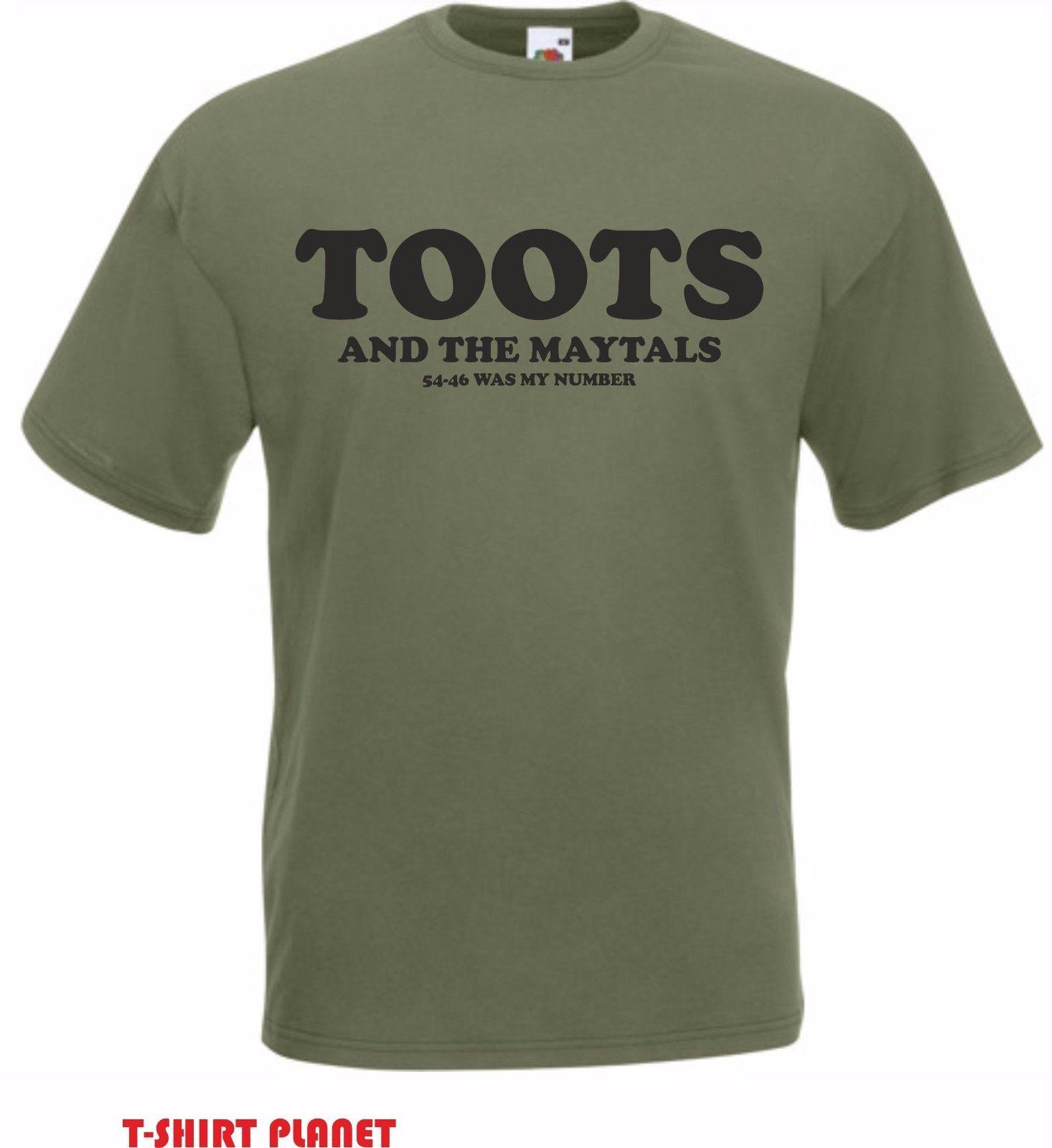 084d3fb4d8ff5 Toots   The Maytals 54 46 Was My Number T Shirt Reggae Icons Freedelivery  New T Shirts Funny Tops Tee New Unisex Funny Tops T Shirt Printing Shirts  From .