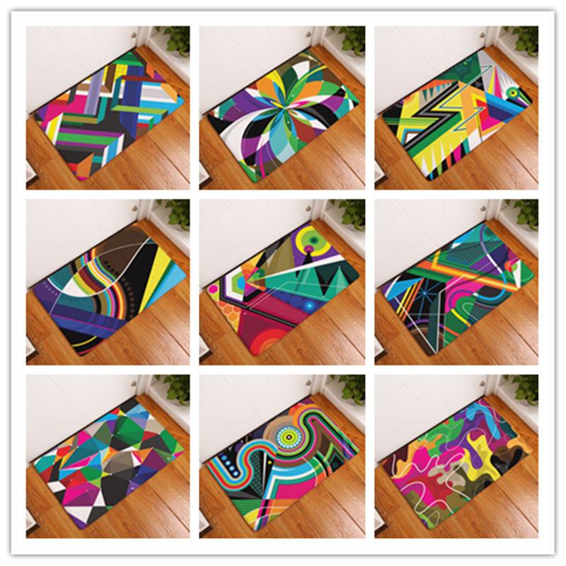 Cute Printing Rectangular Mats 40cm*60cm Entrance Doormats Washable ...