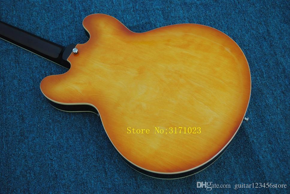 Custom Shop 335 Jazz Guitar High Quality Wholesale Guitars Top Musical instruments