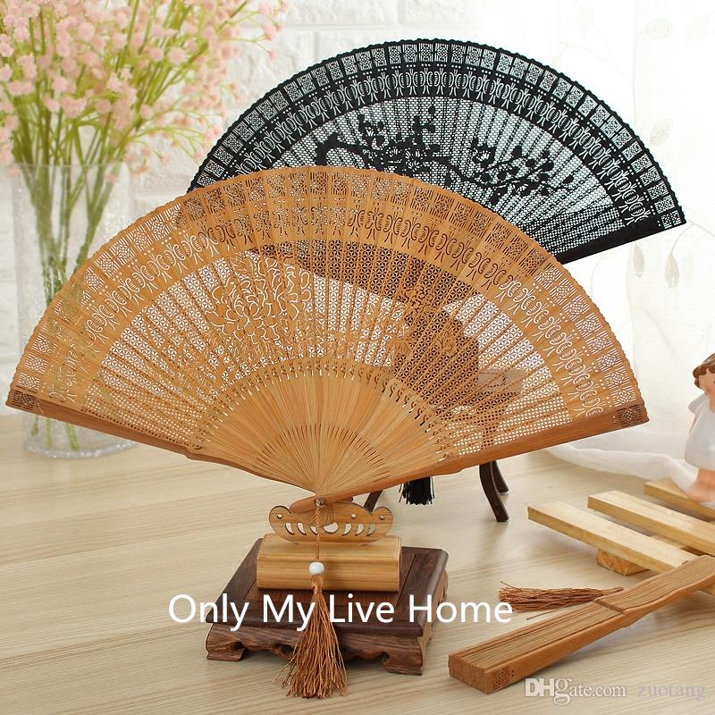 2018 openwork craft gift chinese fan decorative vintage full bamboo