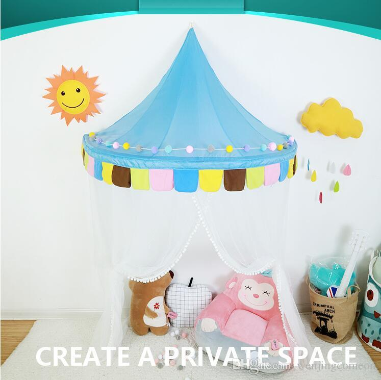 Kids Play House Baby Play Can Move Hanging Wall Colorful Tents Princess New Design Girl Gift Kids Tents 1.5M