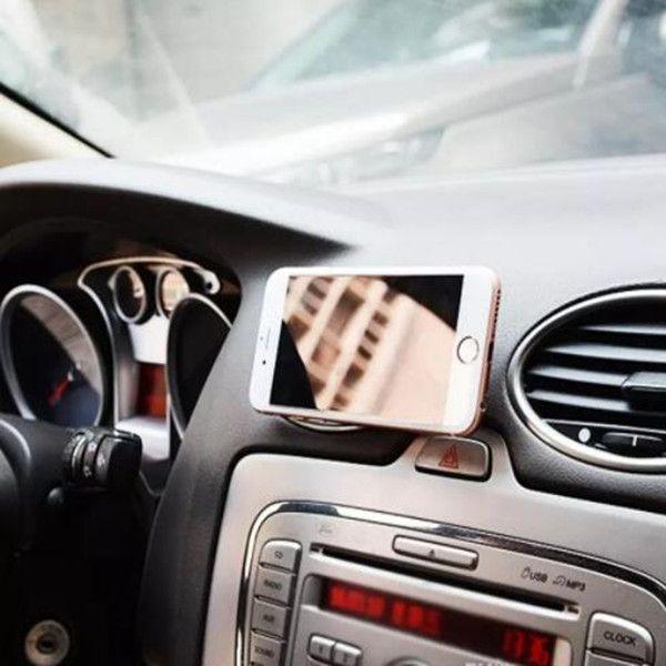 يونيفرسال للسيارات سيارة ميني تنفيس الهواء جبل حامل الهاتف المحمول المغناطيسي handfree لوحة القيادة الهاتف المعادن ل فون 7 سامسونج