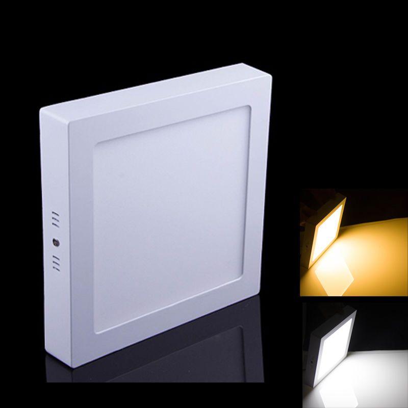 Dimmbare 9W 15W 21W 25w runde / quadratische geführte Instrumententafel-Oberfläche LED-Downlight-Beleuchtung führte Deckenstrahler Wechselstrom 110-240V + Treiber