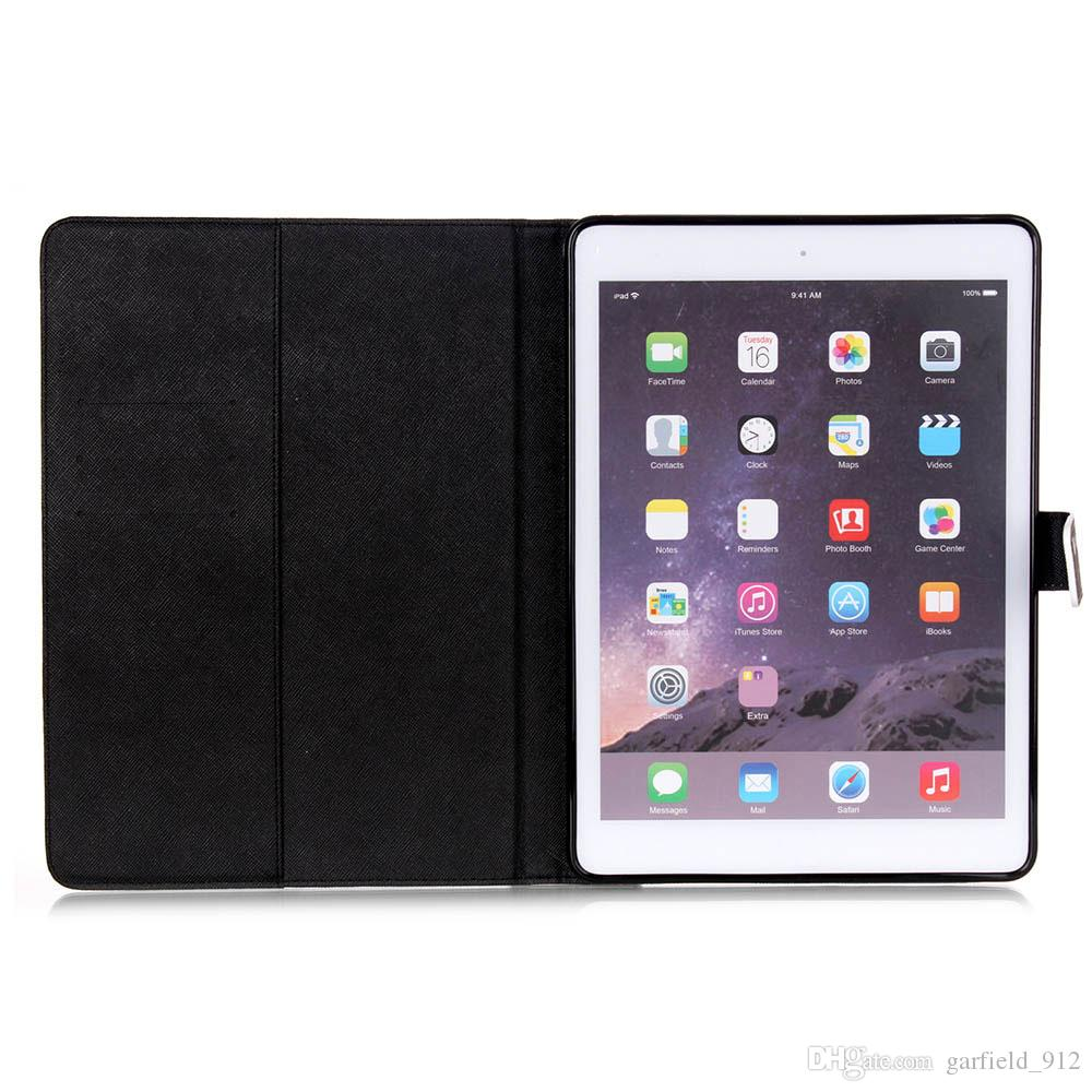 For Apple iPad Mini 1 2 3 4 Case Wallet PU Leather Flip Case Tablet PC Smart Cover Stand For iPad 2 3 4 Air 2