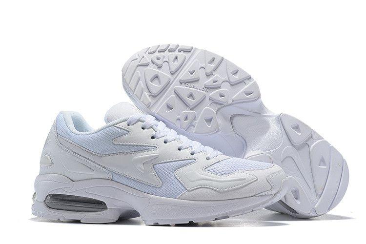 f211170a Купить Оптом Nike Air Max2 Light 2018 New Max2 Light OG Мужская Обувь Для  Бега Glass Blue White Black Red Dad Shoe Sports Дизайнерские Кроссовки  Мужские ...