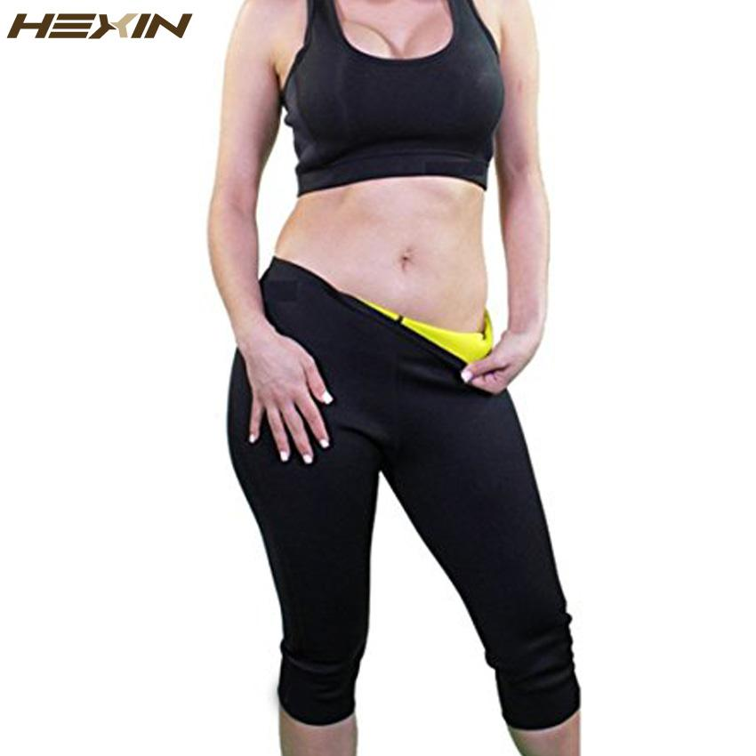 33f3ca92ea 2019 HEXIN Womens Slimming Pants Hot Thermo Neoprene Sweat Sauna Body  Shapers Fitness Stretch Control Panties Burne Waist Slim Pants From  Clothfirst