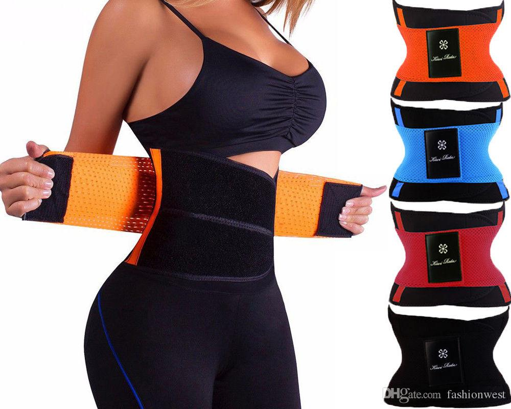 9dc44a5524 2019 Sport Waist Cincher Girdle Belt Body Shaper Tummy Trainer Belly Training  Corsets From Fashionwest
