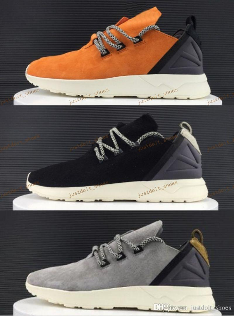 2017 new Cheap discount Tubular Zx Flux NEW X Boost Casual Shoe,top Men Training Sports Sneakers Shoes,Popular mens Running Boots footwear