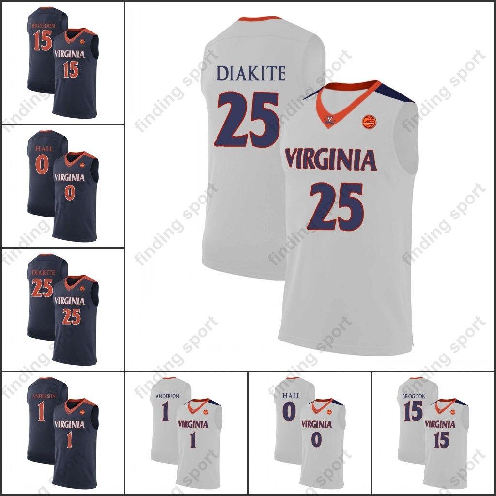 8f83acf4e Compre Ncaa Mens Virginia Cavaliers College Camisetas De Baloncesto 2018  Gill Wilkinson Stith Isaiah Wilkins Nigel Johnson Scott Marco Anthony Jay  Huff A ...