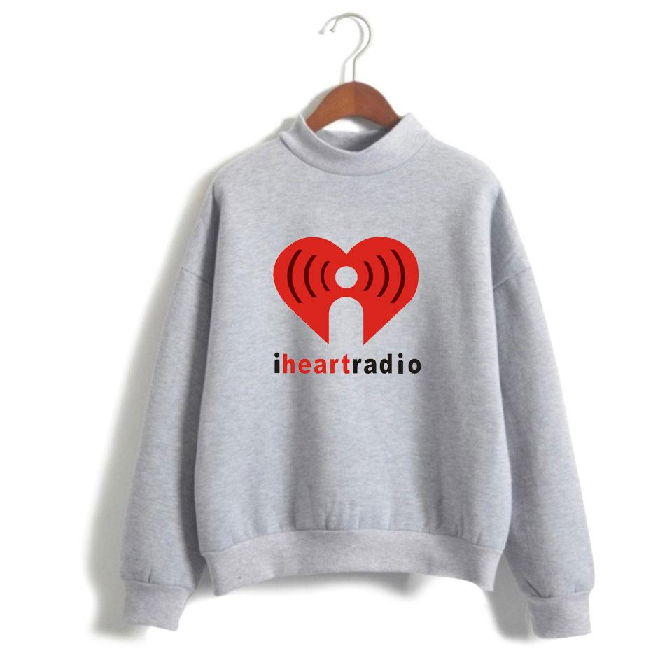 2018 IHeartRadio Sweatshirts Autumn Fleece Streetwear Hoodie Long ...