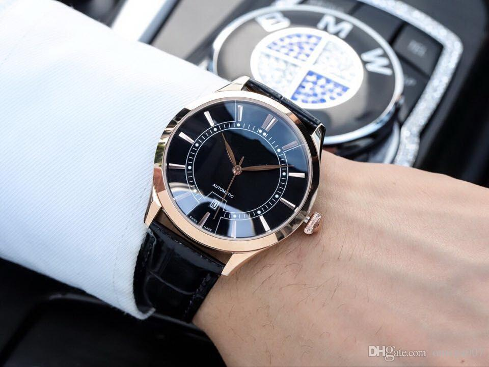 d4b17d46394 HOT GOOD 8215 DATE STOCK Cheap 40MM CASE Automatic Mechanical Luxury Sport  Men Watch New Stainless Steel Mens Watches Buy Cheap Watches Online Buy  Cheap ...
