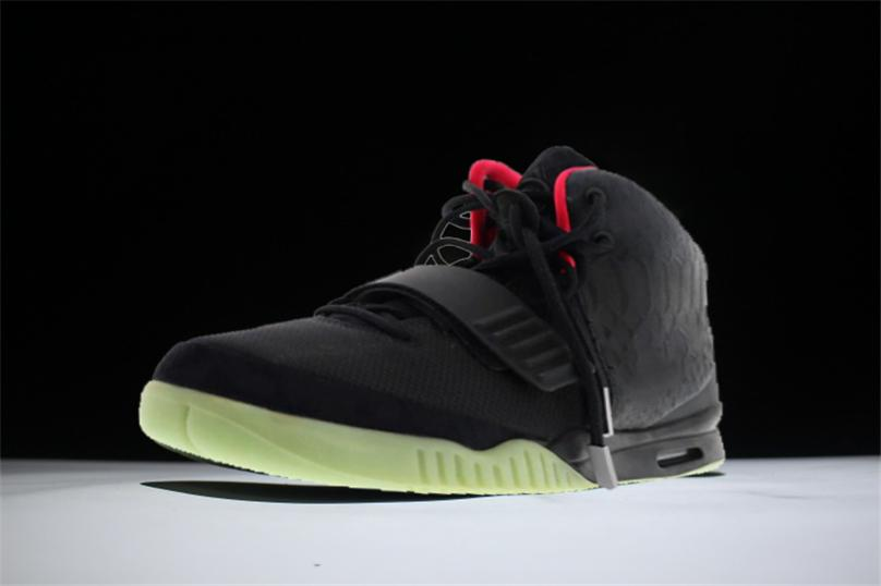quality design 4d1b0 8c470 2018 Newest Release Air V2Yeezy 2 NRG Red October Basketball Shoes Men  Kanye West Pure Platinum Wolf Grey Solar Black Red Sneakers With Box