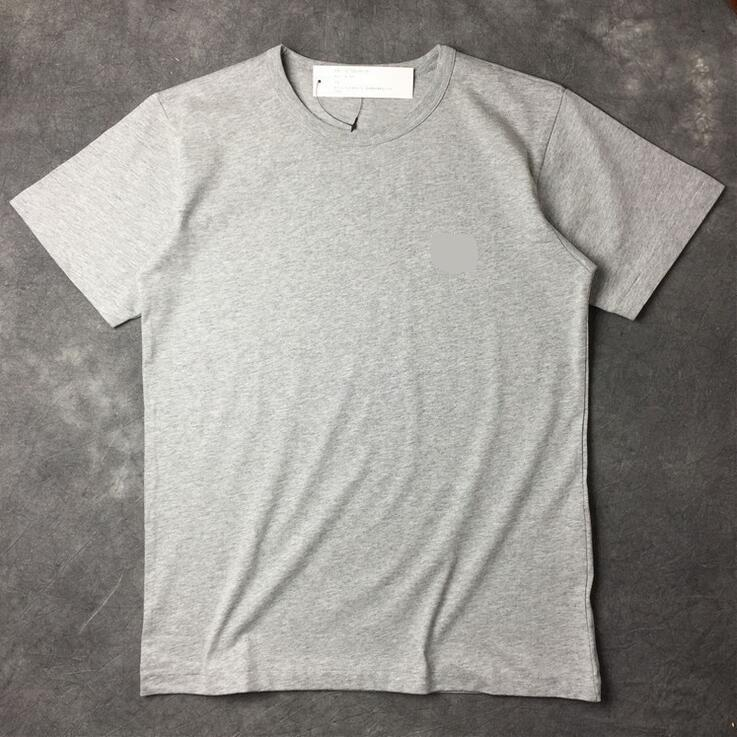 T-Shirt Straße der Gezeiten des freien Verschiffens einfache uniforme kleine Herzpaare kurzärmeliger runder Ansatz lose kurzärmelige Baumwolle