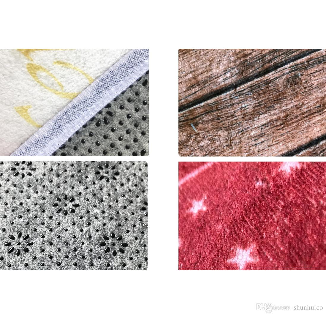 Comfort tappetino 60x180 cm cuscino antiscivolo tappetino da cucina in gomma zerbino zerbino bagno soggiorno tappetino bambini flanel caroset tappeto