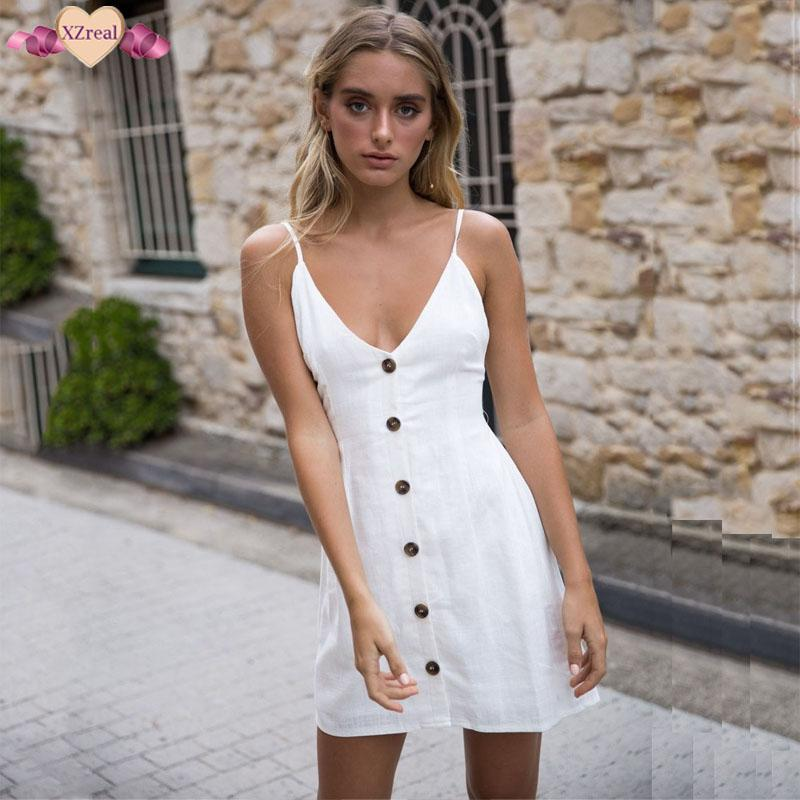 Button Down Dresses for Teens