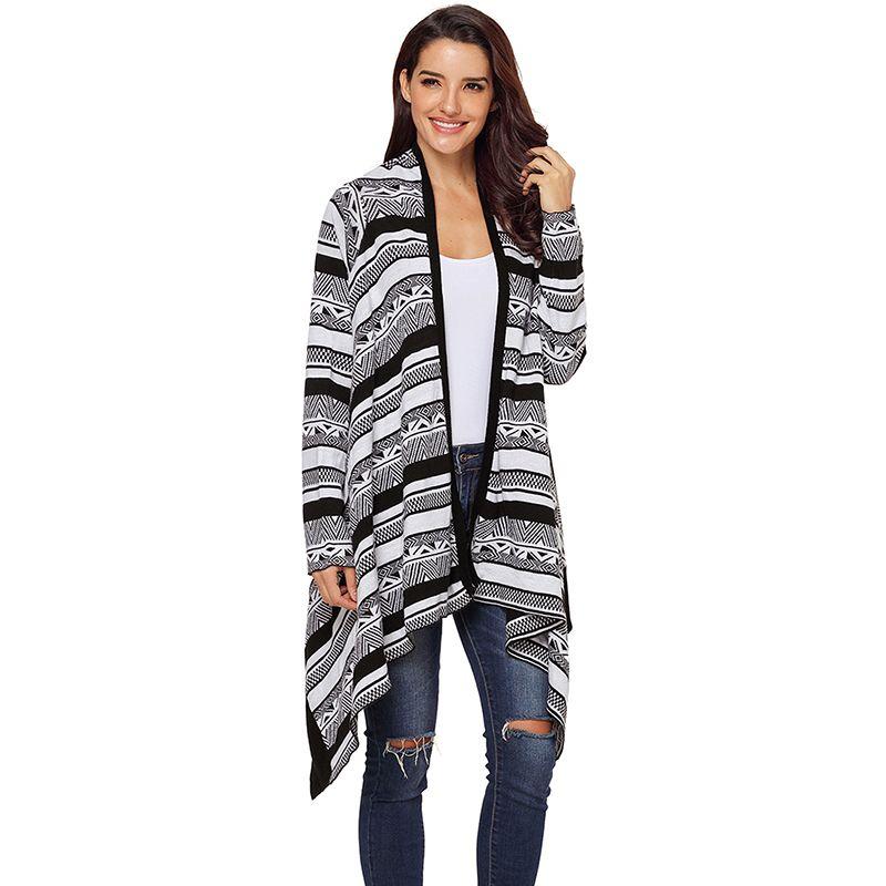 Oversized Cape Poncho Women Sweaters Wholesale Summer Autumn Cardigan Feminino Long Sleeve Knit Tops Coat Long Cardigan Women Punctual Timing Sweaters Cardigans