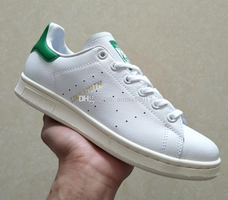 wholesale dealer d1d9f 068e9 2018 super Originals Campus Stan smith shoe for boy girl Men Women with  White Red Black Green stansmith speedcross star shoes