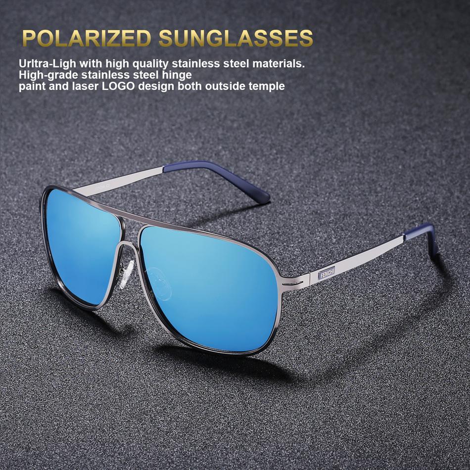 bd09e01163 FENCHI Sunglasses Men Polarized Square Retro New Driving Vintage Super  Light Fishing Sunglasses Eyewear Polaroid Sun Glasses Eyewear From  E6241163