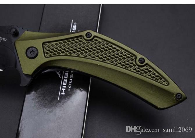 Neueste United Besteck Klaue Karambit Titanium Taschenmesser Klappmesser 57HRC Aluminium Griff Taktische Jagd Überleben Messer Utility EDC werkzeuge