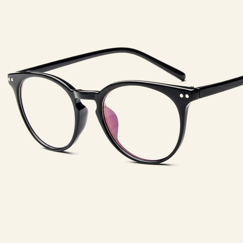 dd80c6112c5f 2019 Classic Vintage Points Myopia Glasses Frames Women And Men Retro Round Eyewear  Frame Male Female Casual Clear Optical Frames From Goodlines