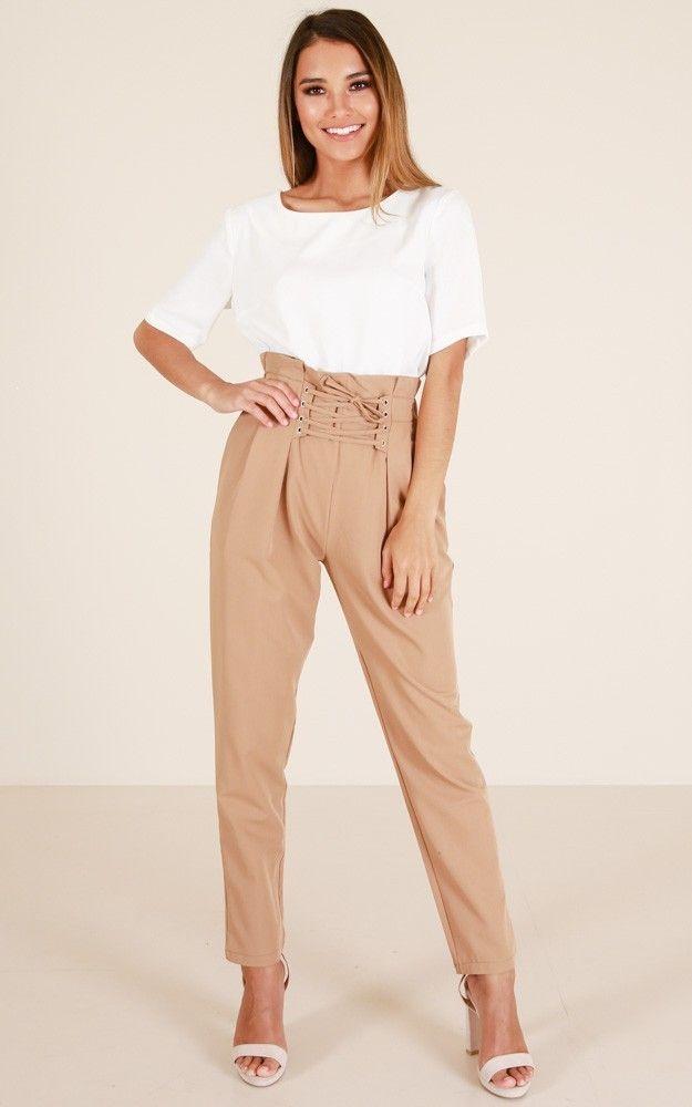 Summer new casual carrot pants, Perforation bandage Elastic high waist loose Feet pants with harem pants Long pants.