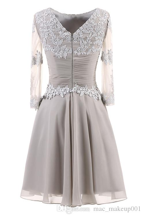 Short Evening Dress hot selling Sexy A-line Long sleeves Bride Party Formal Dress Homecoming Dresses supply