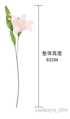 العطور الفرنسية الزنبق الأبيض الطازجة زهرة الزفاف عيد الميلاد يوميا زهرة الجافة وهمية الاصطناعي زنبق العروس باقة نوعية جيدة