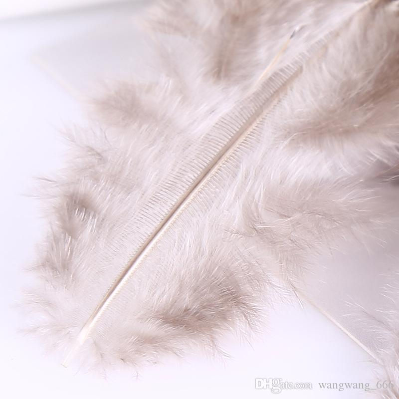 4-8cm Natural Color Reeves' Brown Pheasant Feathers Loose Plumages for Jewelry Making Hot Sale