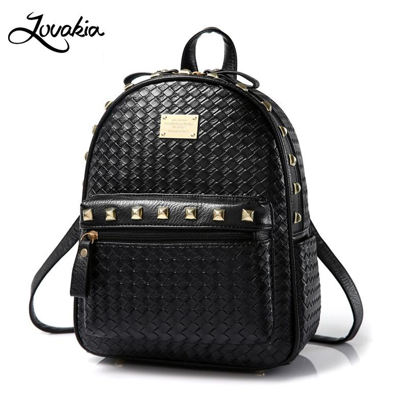 efd0e50467 LOVAKIA 2018 New Travel Waterproof Laptop Backpack Women Pu Leather  Backpacks for Teenage Girls Casual Student School Bags Leather Backpack  Backpack for ...