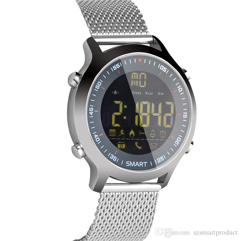 180f69e0ef3 EX18 Waterproof 5ATM Wrist Smart Watch Support Call And SMS Alert Sports  Activities Tracker Bluetooth Wristwatch Smart Wrist Watch Smartwatch India  From ...