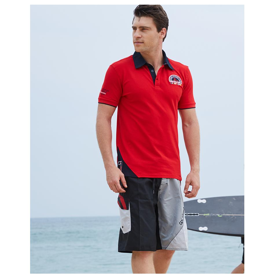 9f781f789fc7 2019 Designer Polo Brand Men Polo Shirt Mens Solid Polo Homme Casual Short  Sleeve Tops For Man Patchwork 100 %Cotton Plus Size From Clothingdh