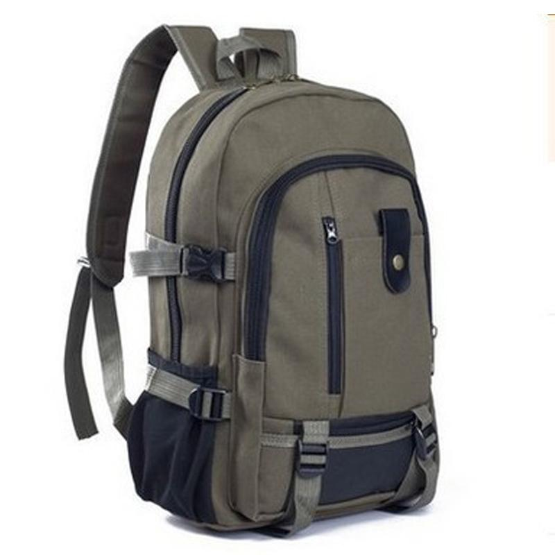 d226abe5c7b9 2019 Outdoor Sports Fitness Gym Bags Canvas Large Capacity Men S Shoulder  Backpack Travel Backpacks College Bag Sale From Qingfengxu