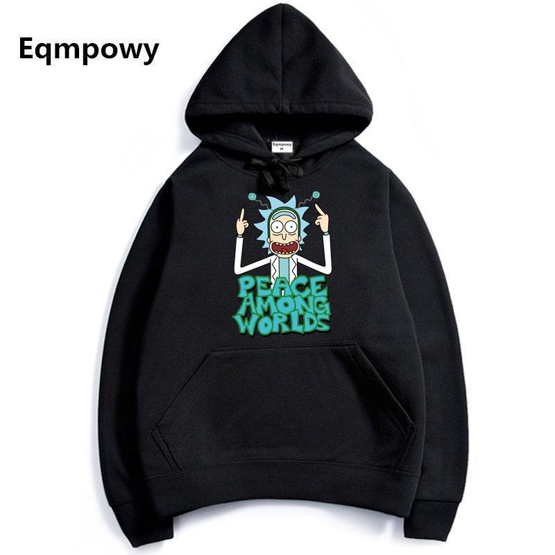 efc0d4bb2 2019 2017 Men/Woman Hip Hop Cool Rick Morty Hoodie Fashion Brand Clothing  Character Sweatshirts Men Pullover Hoodies From Hongzhang, $21.53 |  DHgate.Com