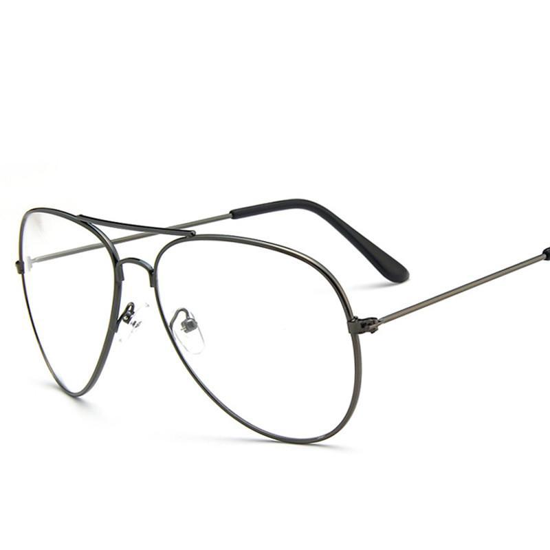 81e83f6096 Sunglasses Brands Clear Glasses Women Classic Optics Glasses Aviation Alloy Frame  Transparent Lens Glasses Men Sunglasses Female Oculos Online Eyeglasses ...