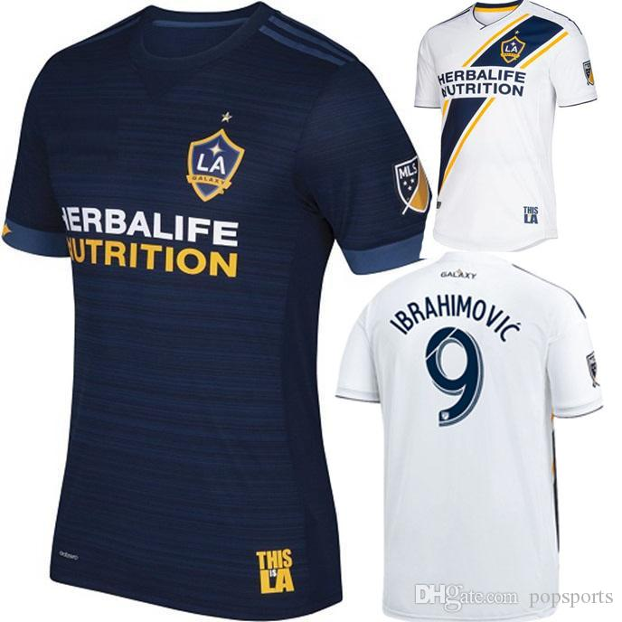 2019 2018 2019 LA Galaxy Ibrahimovic Home Away Soccer Jersey 18 19 Los  Angeles Camisa ALESSNDRINI J.DOS SANTOS Adult Football Shirt Men Uniforms  From ... 1e3dea0b9