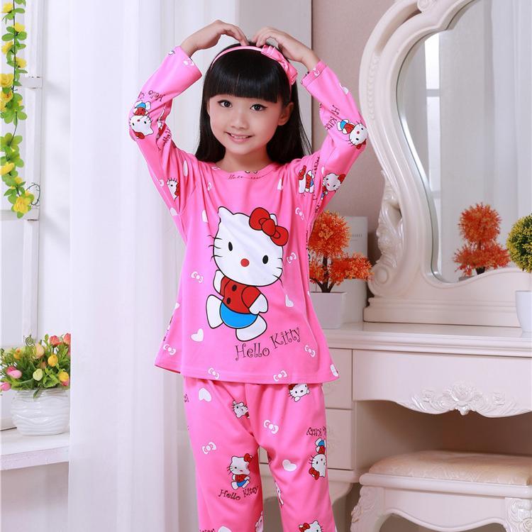 f706ac690 Spring And Autumn New Kids Girls Pajamas Sets Princess Pyjamas Kids Pajama  Sleepwear Home Clothing Cartoon Baby Pajama 3 12T Kids Pajamas Cheap Summer  ...