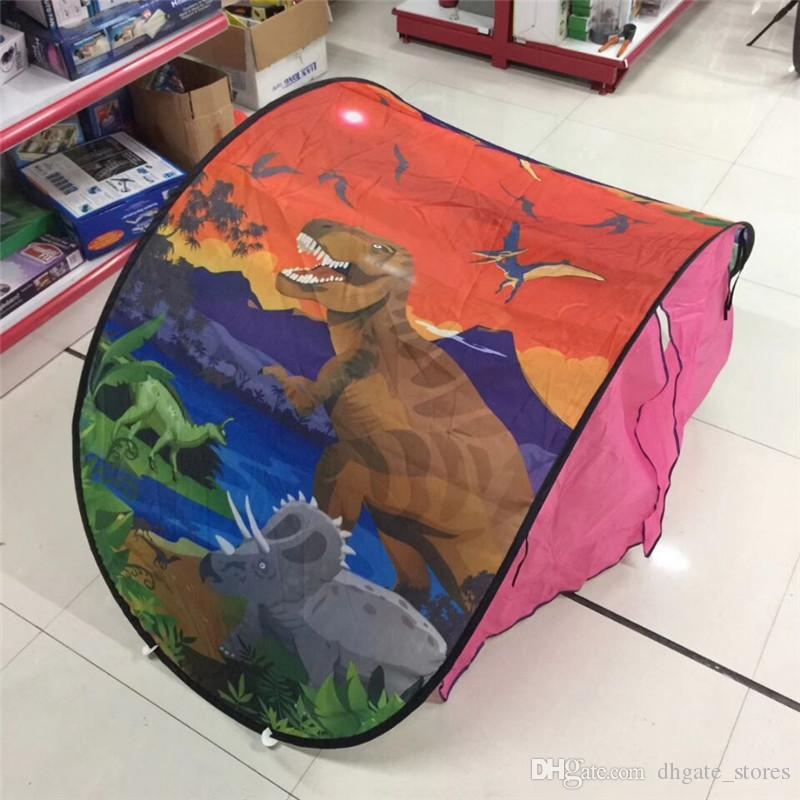 Kids Dream Tent Folding Type Unicorn Cosmic Space Dino sleeping stents Baby Mosquito Netting magical dream world for boy girls