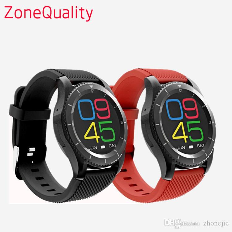 No.1 G8 Smartwatch Bluetooth 4.0 SIM Call Message Reminder Heart Rate Monitor sport Smart watch For Android Apple IOS