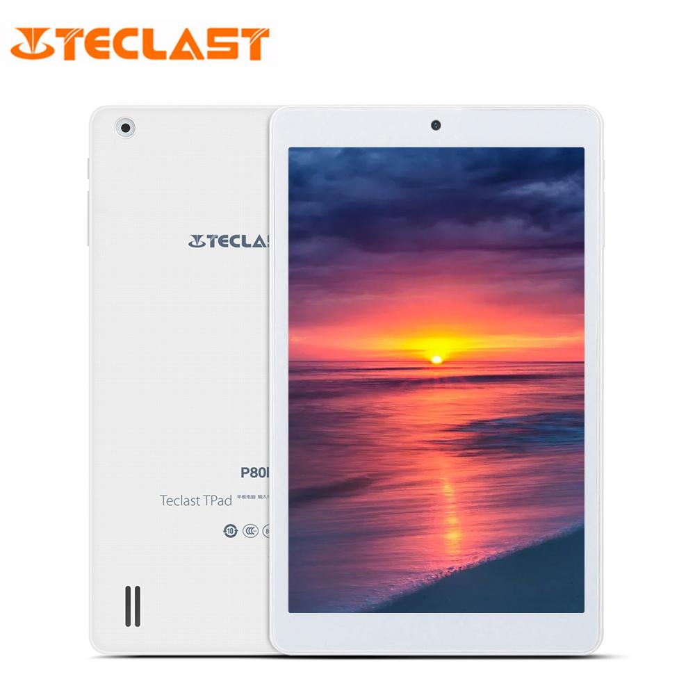 Teclast P80H PC Tablets 8 inch Quad Core Android 5.1 64bit MTK8163 IPS 1280x800 Dual WIFI 2.4G/5G HDMI GPS Bluetooth Tablet PC