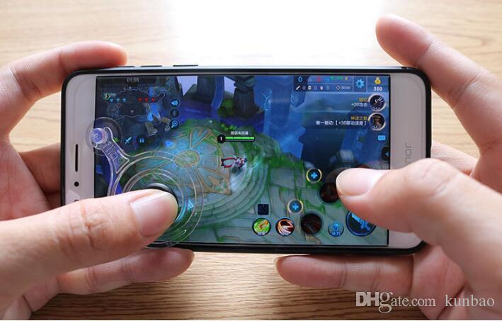 Fling мини мобильный джойстик двойной аналоговый джойстики смарт-клип для samrtphone игровой сенсорный с розничной коробке