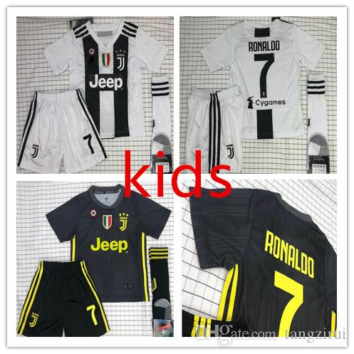 9e4e6ea29 2019 18 19 Juventus Home Away 3rd RONALDO DYBALA Soccer Jersey Kids Kit  BONUCCI 2018 2019 Boys Soccer Jerseys Shirts Uniforms Best Quality From  Tangzirui, ...