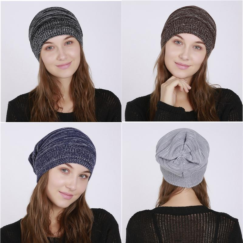 161a398042746 Winter Hat for Women Fashion Warm Hat Cap Knitted Beanies Brand ...