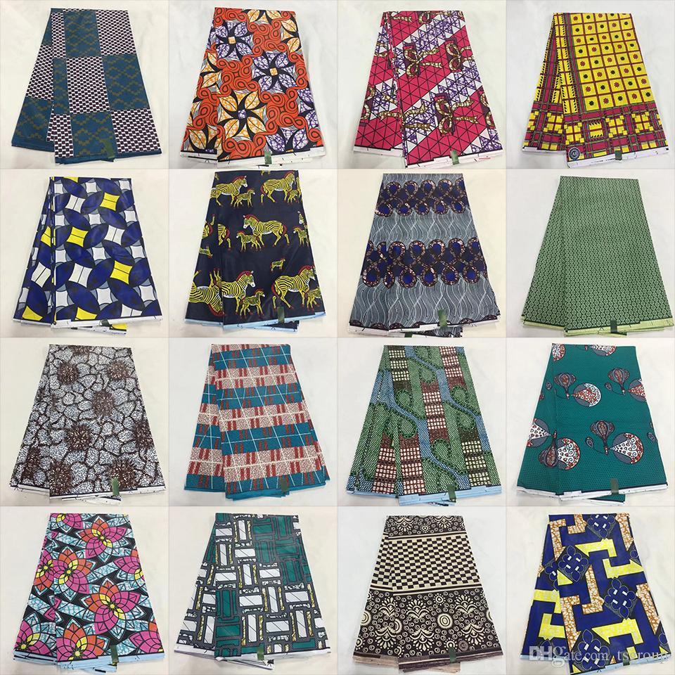 d7ae27ea06ee 6 Yards Batik Ankara Super Wax Java Print Cotton Fabric Ankara Wax Print  Fabric For African Fabric Dress Upholstery Fabrics Chenille Fabric From  Tsgroup